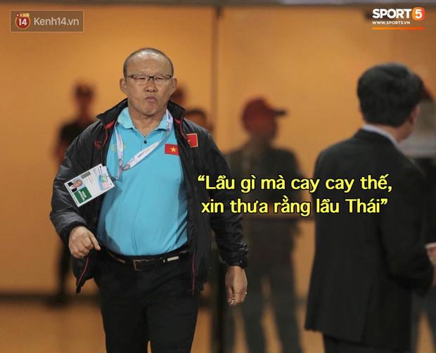Loạt ảnh chế màn tranh chấp căng thẳng giữa các cầu thủ Việt Nam và Thái Lan: Lẩu gì mà cay cay thế xin thưa rằng lẩu Thái - Ảnh 1.
