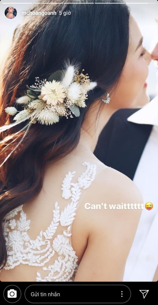 MC Hoàng Oanh hé lộ thêm ảnh cưới rõ mặt bạn trai ngoại quốc, háo hức đếm ngược từng ngày chính thức trở thành cô dâu - Ảnh 2.
