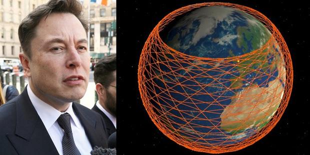 Đám vệ tinh của SpaceX trở thành nỗi ác mộng đối với các nhà thiên văn học - Ảnh 1.