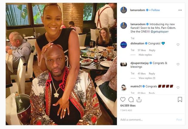 Hậu chia tay cô em nhà Kardashian, cựu sao NBA tìm đc bến đỗ mới: Đâu cần xinh đẹp hào nhoáng, chỉ cần hiểu mình là đủ - Ảnh 1.