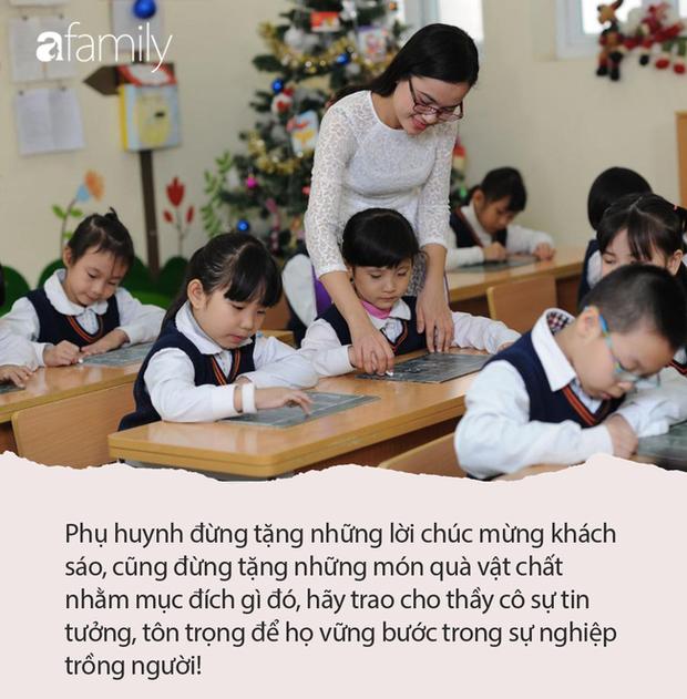 Cô giáo hạnh phúc khoe món quà nhân Ngày Nhà giáo lên MXH bị phụ huynh chỉ trích, dân mạng lại phẫn nộ: Suy diễn quá nhiều! - Ảnh 4.