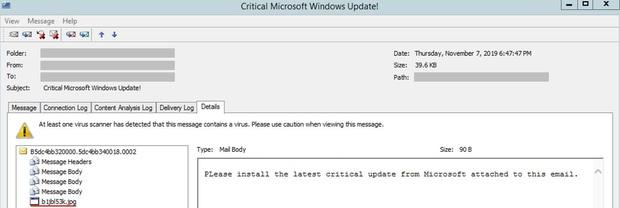 Đừng dại dột click vào những email thông báo cập nhật Windows, bạn sẽ tốn tiền vì mở nó đấy! - Ảnh 1.