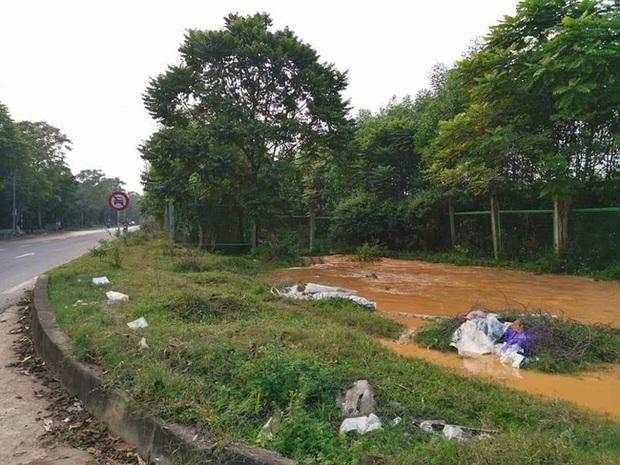 Ngừng cấp nước tạm thời vì sự cố vỡ ống dẫn nước sạch sông Đà - Ảnh 1.