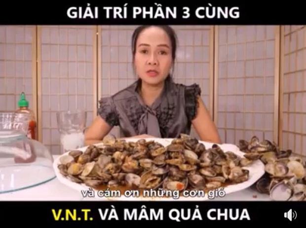 Vinh Nguyễn Thị - nữ Youtuber nổi tiếng xàm duyên dáng lại tiếp tục khiến dân mạng cười bò bằng loạt video bình luận trái cây siêu lạ kỳ - Ảnh 4.