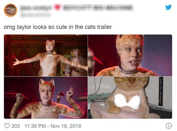 Hết hồn nhìn bầy mèo cởi truồng ở trailer Cats, cư dân mạng ái ngại đua nhau che chắn vòng 1 cho Taylor Swift - Ảnh 18.