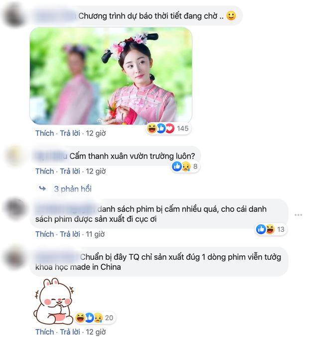Netizen biến sắc khi nghe tin Cục Điện Ảnh Trung thảm sát cổ trang lẫn vườn trường: Vậy chiếu dự báo thời tiết đi? - Ảnh 3.