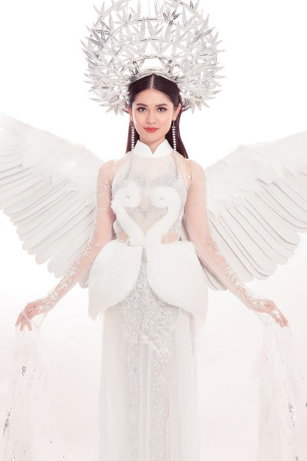 Được ủng hộ nhiều nhất nhưng trang phục Cò có đủ mới lạ để Hoàng Thùy mang đi Miss Universe? - Ảnh 4.