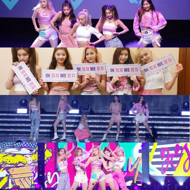 """Là """"siêu tân binh"""" của JYP nhưng ITZY phải mặc đi mặc lại đồ diễn cũ, fan phẫn nộ chê công ty """"giàu mà keo"""" - Ảnh 2."""
