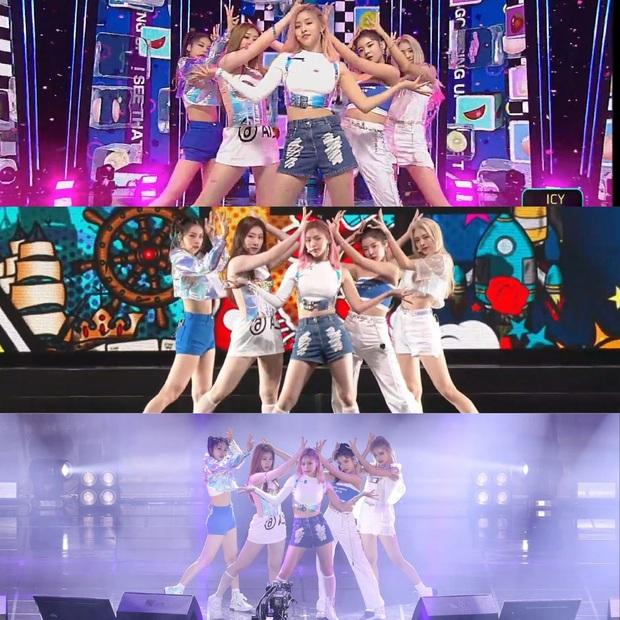 """Là """"siêu tân binh"""" của JYP nhưng ITZY phải mặc đi mặc lại đồ diễn cũ, fan phẫn nộ chê công ty """"giàu mà keo"""" - Ảnh 4."""