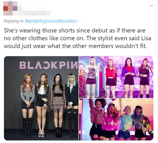 Thấy Lisa mặc đi mặc lại 1 chiếc quần trong suốt 3 năm, fan BLACKPINK phẫn nộ tố YG vô tâm, hời hợt - Ảnh 7.