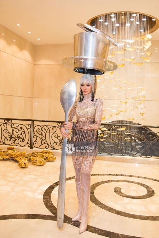 Chính thức: Hoàng Thùy chọn Cà Phê là Quốc phục mang đến Miss Universe 2019 dù từng bị netizen chê tơi tả! - Ảnh 3.