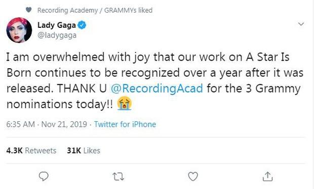 Grammy 2020 chính thức công bố đề cử: Ariana Grande khỏi bệnh ngay lập tức, Halsey tức giận trách nước Mỹ thay fan BTS - Ảnh 2.
