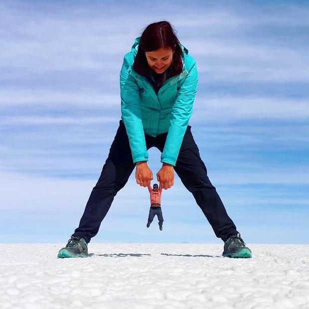 """Muốn ảnh hết """"nhạt"""" thì nên một lần đến """"sống ảo"""" ở cánh đồng muối siêu to khổng lồ này - Ảnh 11."""