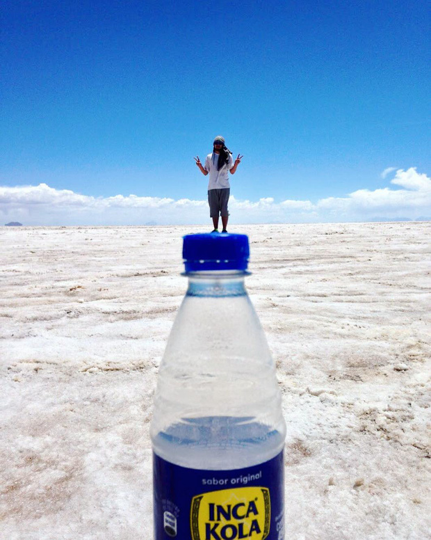 """Muốn ảnh hết """"nhạt"""" thì nên một lần đến """"sống ảo"""" ở cánh đồng muối siêu to khổng lồ này - Ảnh 8."""