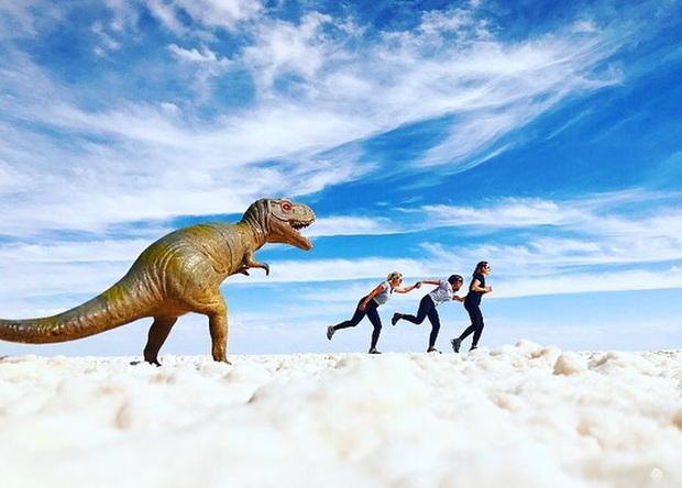 """Muốn ảnh hết """"nhạt"""" thì nên một lần đến """"sống ảo"""" ở cánh đồng muối siêu to khổng lồ này - Ảnh 13."""