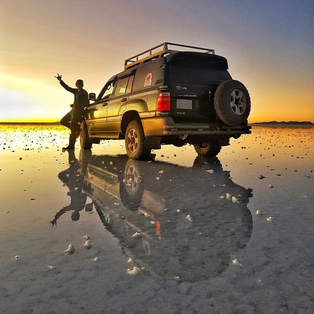 """Muốn ảnh hết """"nhạt"""" thì nên một lần đến """"sống ảo"""" ở cánh đồng muối siêu to khổng lồ này - Ảnh 3."""