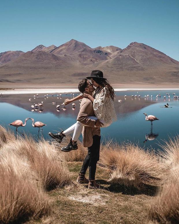 """Muốn ảnh hết """"nhạt"""" thì nên một lần đến """"sống ảo"""" ở cánh đồng muối siêu to khổng lồ này - Ảnh 16."""