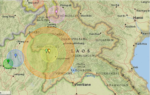 Lào rung chuyển bởi động đất mạnh 6 độ, rung lắc cảm nhận được tại Việt Nam - Ảnh 1.