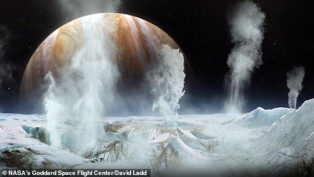 NASA phát hiện hơi nước trên Mặt Trăng Europa của sao Mộc  - Ảnh 1.