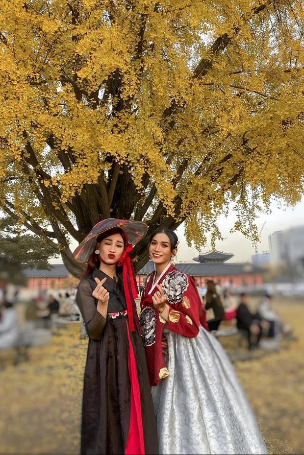 Giả gái xuất sắc đã đành, BB Trần bắt trend du lịch còn đỉnh hơn: Đến Hàn Quốc thời điểm hot nhất năm, chụp bừa cũng có 7749 ảnh đẹp - Ảnh 3.