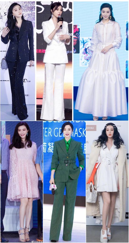 Nữ hoàng thảm đỏ Cbiz 2019: Phạm Gia sa sút phong độ, Triệu Vy ngày một đẳng cấp, Angela Baby và Quan Hiểu Đồng đua đồ Haute Couture - Ảnh 1.