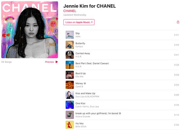 Playlist của Jennie dạo này: Chỉ nghe đúng một bài của BLACKPINK; ngoài ra có thêm hit của Ariana Grande, Rihanna, Billie Eilish, Lauv... - Ảnh 1.