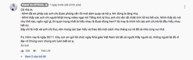 """Đăng clip thử tài nói tiếng Anh của người Nhật, """"hotgirl 7 thứ tiếng"""" Khánh Vy bất ngờ vì phản ứng trái chiều của dân mạng - Ảnh 8."""