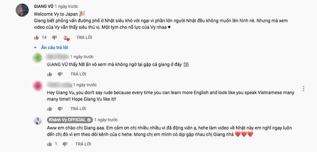 """Đăng clip thử tài nói tiếng Anh của người Nhật, """"hotgirl 7 thứ tiếng"""" Khánh Vy bất ngờ vì phản ứng trái chiều của dân mạng - Ảnh 7."""