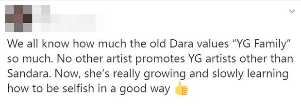 YG xóa sổ 2NE1 khỏi danh sách nghệ sĩ, Dara từ chức giám đốc PR và dằn mặt: Tôi chỉ làm việc cho các cô gái của tôi thôi! - Ảnh 7.