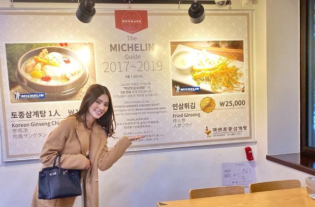 Theo chân rich-kid Jolie Nguyễn ăn uống sương sương ở Seoul, lạ lẫm nhất là món bò Wagyu ăn kèm trứng cá dát vàng - Ảnh 3.
