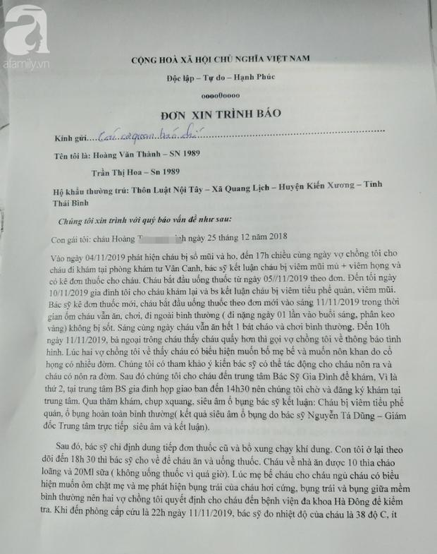 Cặp vợ chồng hiếm muộn đau xót tố bệnh viện tắc trách khiến bé gái 11 tháng tuổi tử vong - Ảnh 2.