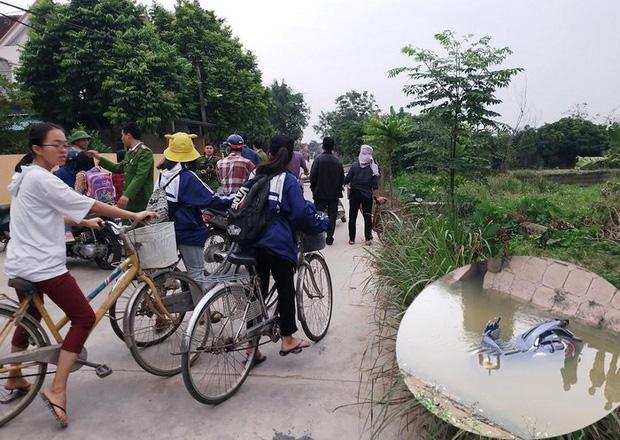 Nghệ An: Người đàn ông tử vong dưới mương nước cùng chiếc xe máy - Ảnh 1.