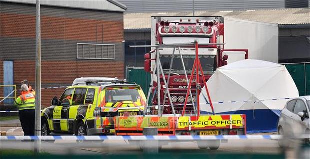 Vụ 39 thi thể trong xe tải ở Anh: Bắt giữ thêm 1 đối tượng người Bắc Ireland - Ảnh 1.
