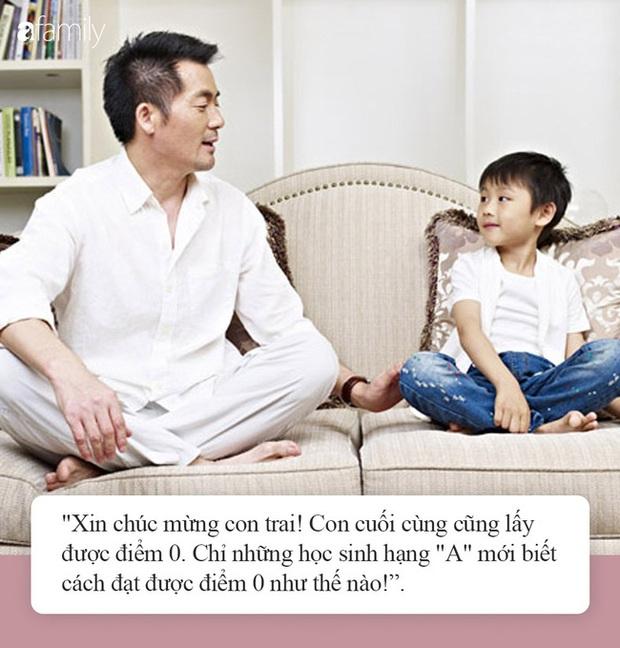 Khuyến khích con được điểm 0, cách dạy con đầy vô lý của ông bố lại khiến dân mạng khen ngợi hết lời - Ảnh 2.
