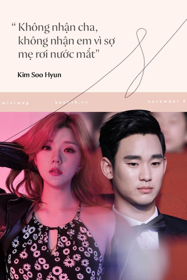Góc khuất cuộc đời Kim Soo Hyun: Mẫu nội y thành tài tử đắt giá, khổ sở vì người nhà và chuyện cô em gái cùng cha khác mẹ - Ảnh 11.