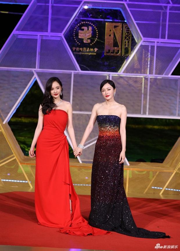 Sự kiện khủng Cbiz hôm nay: Địch Lệ Nhiệt Ba xinh như công chúa, Dương Mịch - Lưu Thi Thi chặt chém thảm đỏ ác liệt - Ảnh 3.