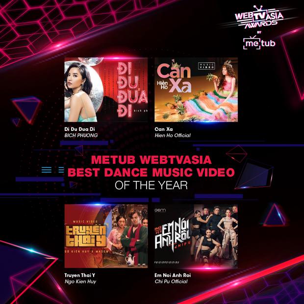 Hoàng Thùy Linh, Bích Phương, Chi Pu, Jack & K-ICM... chạm trán khốc liệt tại đề cử WebTVAsia Awards 2019 - Ảnh 2.