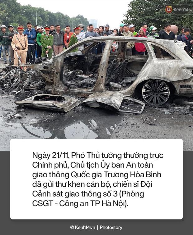 Toàn cảnh vụ nữ tài xế lái xe Mercedes gây tai nạn liên hoàn rồi bốc cháy khiến 1 cô gái tử vong - Ảnh 10.