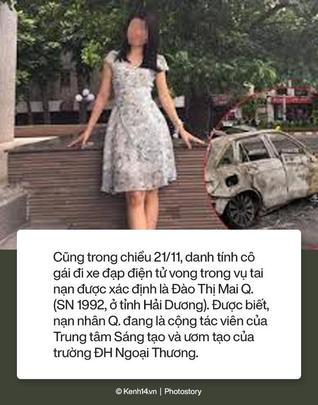 Toàn cảnh vụ nữ tài xế lái xe Mercedes gây tai nạn liên hoàn rồi bốc cháy khiến 1 cô gái tử vong - Ảnh 11.