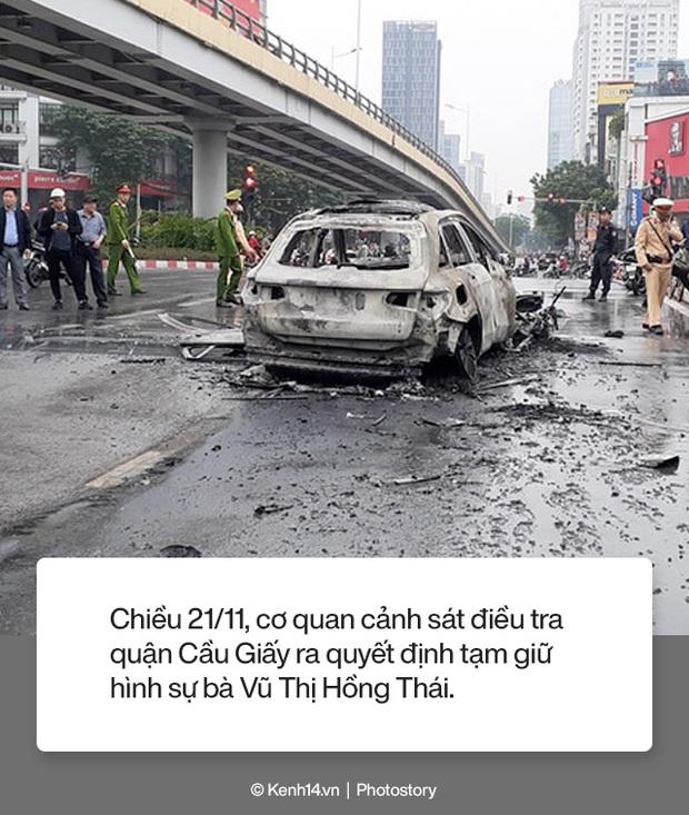 Toàn cảnh vụ nữ tài xế lái xe Mercedes gây tai nạn liên hoàn rồi bốc cháy khiến 1 cô gái tử vong - Ảnh 12.