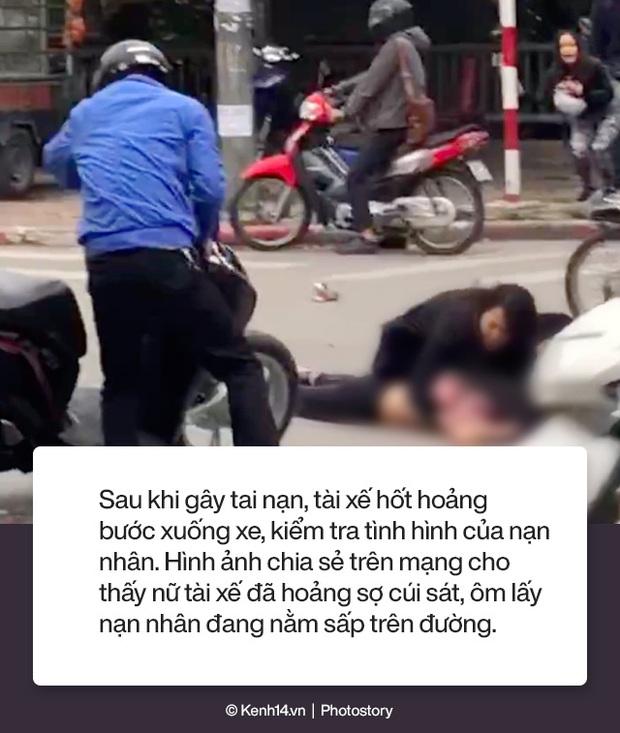 Toàn cảnh vụ nữ tài xế lái xe Mercedes gây tai nạn liên hoàn rồi bốc cháy khiến 1 cô gái tử vong - Ảnh 2.