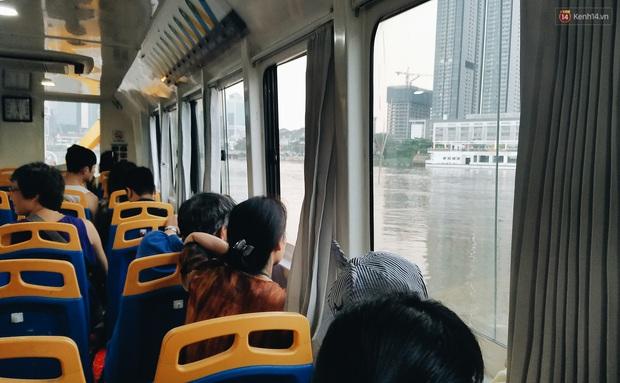 Sau 2 năm hoạt động, tuyến buýt đường sông đầu tiên ở Sài Gòn giờ ra sao? - Ảnh 11.