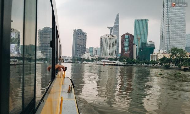 Sau 2 năm hoạt động, tuyến buýt đường sông đầu tiên ở Sài Gòn giờ ra sao? - Ảnh 10.