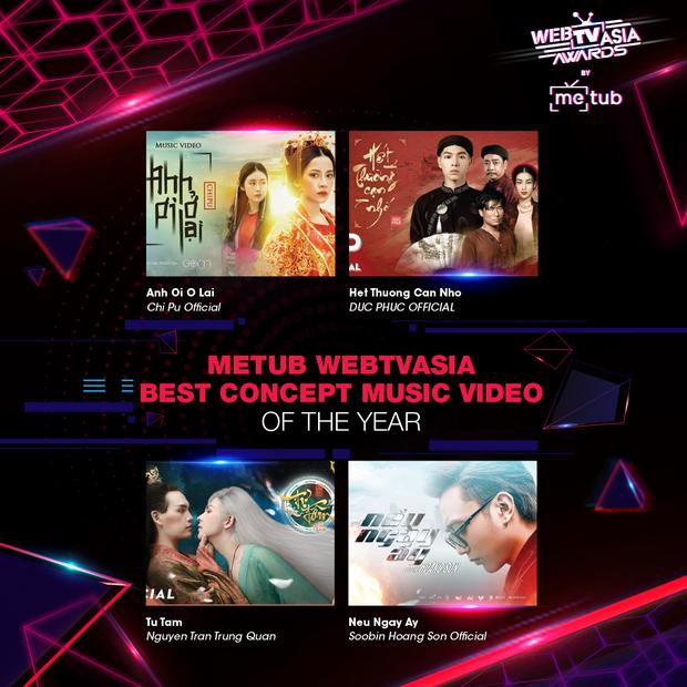 Hoàng Thùy Linh, Bích Phương, Chi Pu, Jack & K-ICM... chạm trán khốc liệt tại đề cử WebTVAsia Awards 2019 - Ảnh 5.