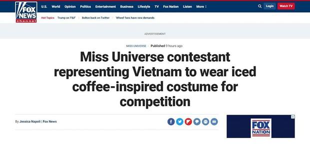 Trang phục bánh mì, cà phê sữa đá của HHen Niê và Hoàng Thùy bất ngờ gây sốt và xuất hiện trên báo Mỹ - Ảnh 3.