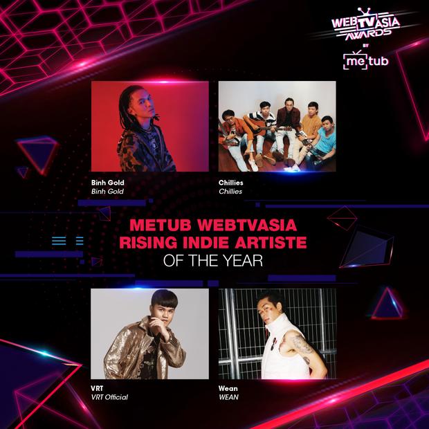 Hoàng Thùy Linh, Bích Phương, Chi Pu, Jack & K-ICM... chạm trán khốc liệt tại đề cử WebTVAsia Awards 2019 - Ảnh 10.