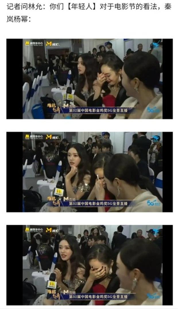 Dương Mịch - Tần Lam ngượng ngùng, bối rối đến mức trợn mắt khi MC lỡ miệng phỏng vấn câu hỏi tế nhị - Ảnh 5.