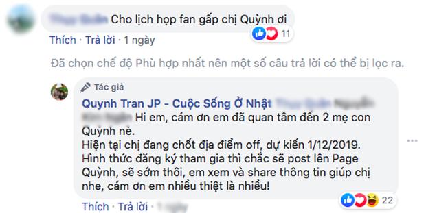 """Quỳnh Trần JP công bố ngày dự kiến tổ chức """"off-fan"""", chưa chốt địa điểm nhưng dân tình đã hào hứng lắm rồi đây! - Ảnh 8."""