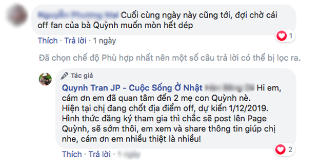 """Quỳnh Trần JP công bố ngày dự kiến tổ chức """"off-fan"""", chưa chốt địa điểm nhưng dân tình đã hào hứng lắm rồi đây! - Ảnh 7."""