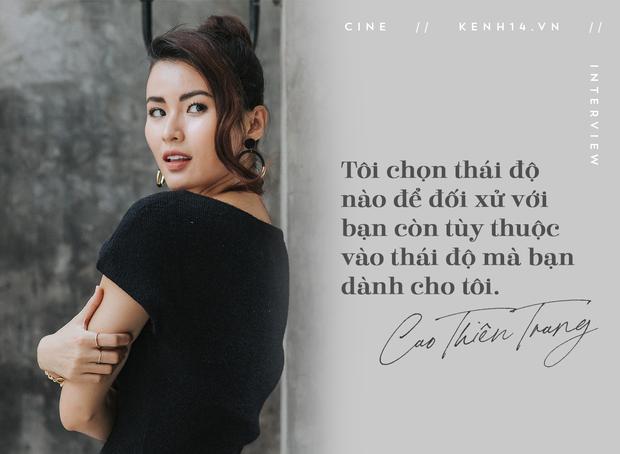 Cao Thiên Trang kể chuyện suýt mất vai vì lùm xùm show thực tế, tham vọng trở thành ác nữ điện ảnh Việt - Ảnh 2.